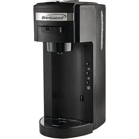 Coffee® single cup coffee maker intensifies the taste in your cup. Single Serve, K-Cup Coffee Maker by Brentwood at Walmart.ca | Walmart Canada