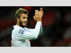 David Beckham England Goalcom