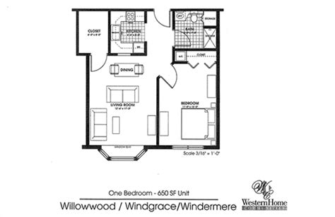 650 Square Feet House Layout