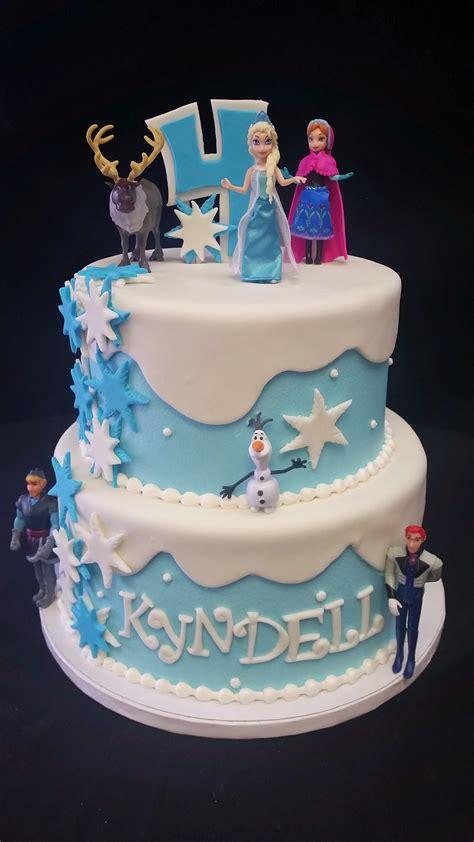 cookie jar bakeshop  frozen birthday cake  elsa olaf ana