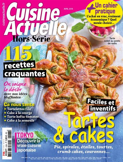 magazines de cuisine cuisine actuelle hors série pas cher avec le kiosque epresse fr