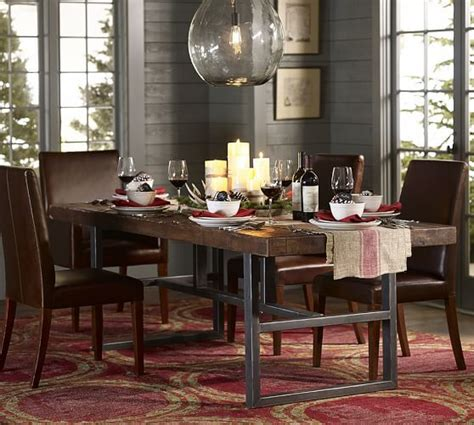 Pottery Barn Griffin Dining Table by Griffin Reclaimed Wood Dining Table Home Pottery Barn