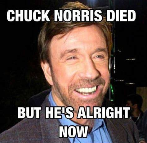 Chuck Norris Funny Meme - chuck norris is alright funny meme funny memes