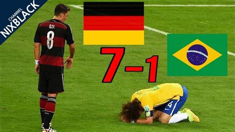 Germany 7-1 Brazil 2014 world cup semifinal all goals and ...