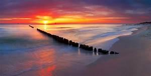 Fototapete Strand Ostsee : fototapete ostsee am wundersch nen sonnenaufgang in polen strand pixers wir leben um zu ~ Frokenaadalensverden.com Haus und Dekorationen