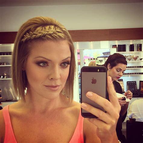 mac makeup a side braid bang braids are my favorite