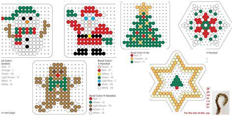 bügelperlen weihnachten vorlagen weihnachten dekoration b 252 gelperlen vorlage tree