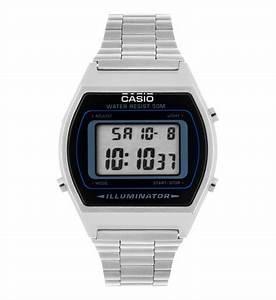 Montre Vintage Casio : montre casio retro b640wd 1avef casio en acier et noir pour homme galeries lafayette ~ Maxctalentgroup.com Avis de Voitures