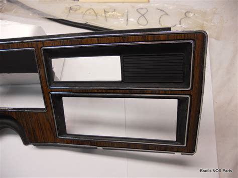 vehicle repair manual 1976 plymouth volare instrument cluster nos mopar 1976 1980 dodge aspen r t plymouth volare dash trim bezel woodgrain ebay