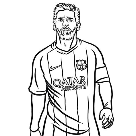 Lionel Messi Drawing at GetDrawings | Free download