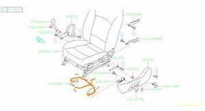 2017 Subaru Legacy Knob-power Seat  Slide  Rail  Interior  Hinge  Front