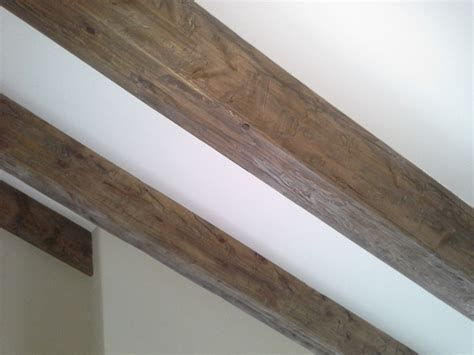 Weathered Wood Ceiling Beams   Traditional   Minneapolis   by Distress City Millwork