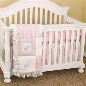 heaven sent girl 3pc crib bedding set 396218741