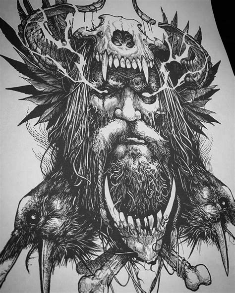 Tattoo Trends - Viking - Odin - Norse - Valhalla - TattooViral.com | Your Number One source for