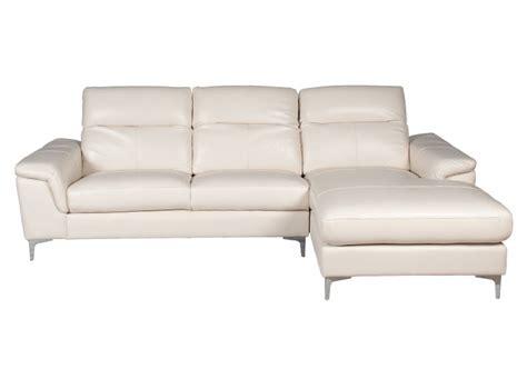 sofa seccional cuero blanco ripley sofas de cuero brokeasshome