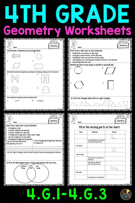 best 25 geometry worksheets ideas on