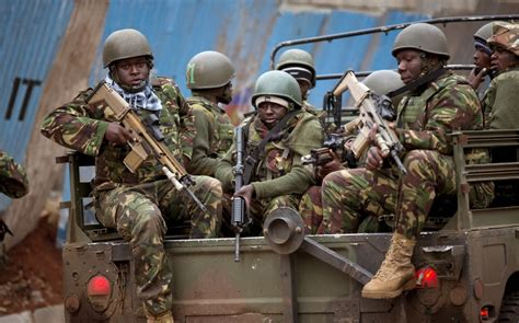 kenya special forces operations forces armed with fn scar