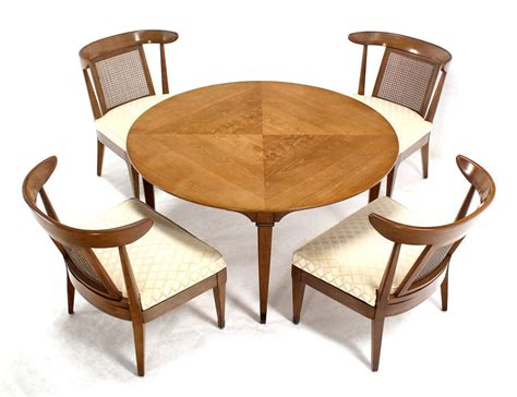 game table sets with chairs mid century modern bridge game table with four chairs set