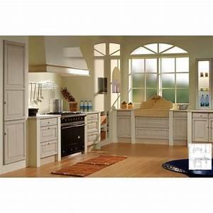 cuisine chene massif moderne maison design bahbecom With meuble de salle a manger avec cuisine Équipée avec Électroménager pas cher