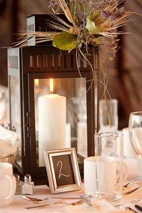 1000 Ideas About Fall Lantern Centerpieces On Pinterest