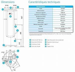 Dimension Chauffe Eau Thermodynamique : chauffe eau thermodynamique vmc aeraulix 3 atlantic ~ Edinachiropracticcenter.com Idées de Décoration