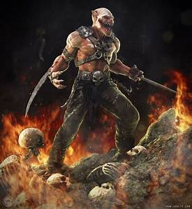 Baraka from Mortal Kombat! | ZBrush | Pinterest