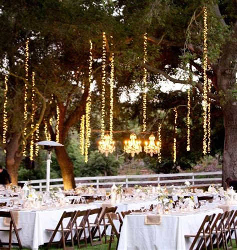 diy outdoor wedding lighting ideas www pixshark