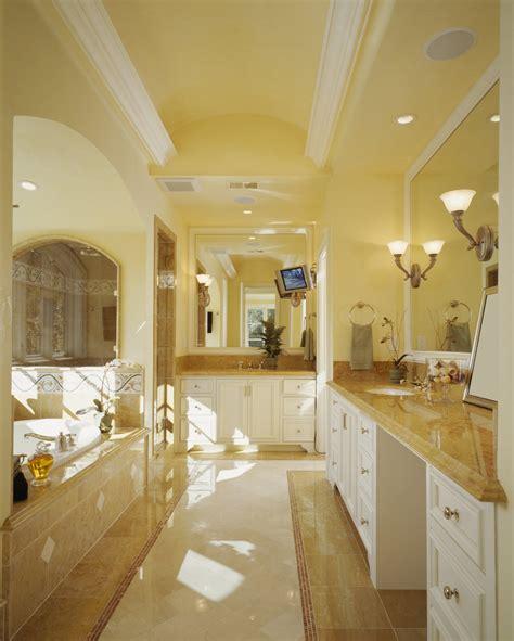yellow primary bathroom ideas