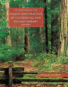 Student Manual Theory Practice Counseling Psychotherapy