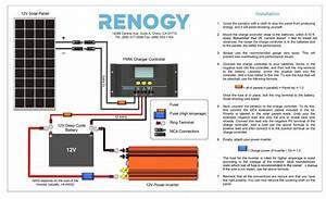 Diy Solar Panel System Wiring Diagram  U2013 Volovets Info