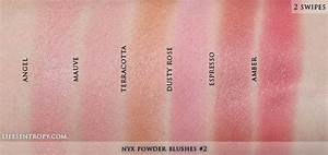 NYX Powder Blush Swatches | Makeup Swatches | Pinterest ...