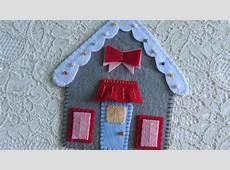 Make a Felt Gingerbread House DIY Crafts Guidecentral