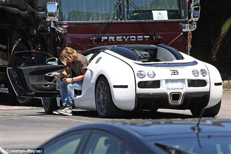 Keith Urban Spotted Driving .7 Million Bugatti Veyron