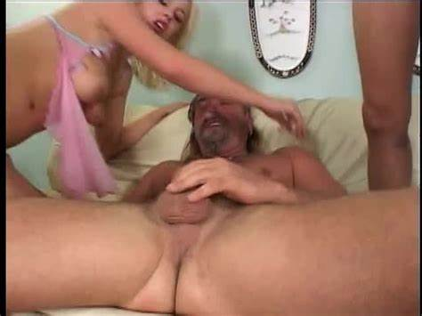 Holes Blonde Tramp Receives Filled
