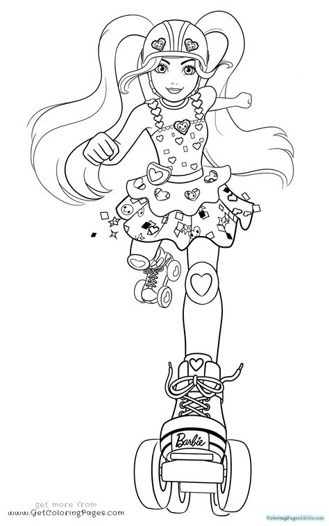 Coloring Pages Barbie Life In The Dreamhouse Beau Cartoon