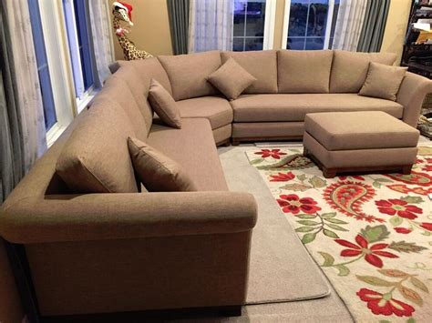 Personalized Sofa by High End Sofa Sectional Custom Ottoman Build A