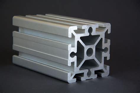 1 m alu profil aluprofile 90x90 nut 10 bosch kompatibel aluminiumprofil baur 45 ebay