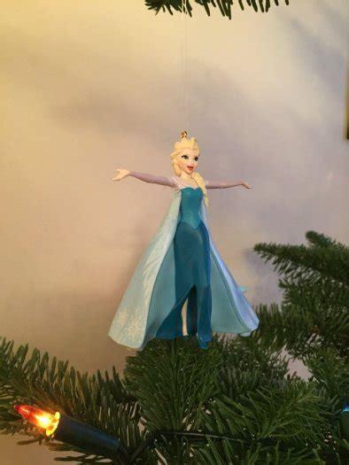 singing elsa christmas tree ornament from disneys frozen