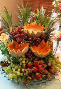 centerpiece for table food display the fruit cascade live pretty