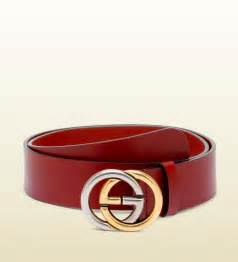 Red Gucci Belt Men