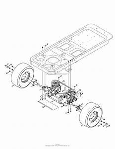 Mtd Ztl7000 17ak2acs099  247 25001   2013   17ak2acs099  2013  Parts Diagram For Drive Assembly