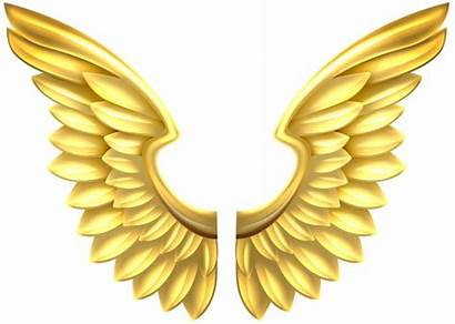 Wings Angel Transparent Clip Gold Clipart Yopriceville