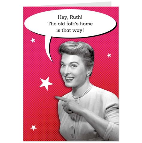 Check spelling or type a new query. Funny Retro Women   Funny Birthday Cards For Women Retro pointing woman female   Funny birthday ...