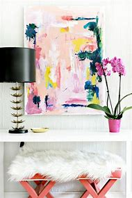 DIY Abstract Art Painting