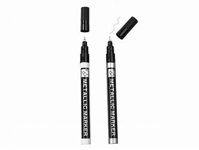 Office United Marker Pens Metallic Lidl
