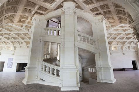 l escalier du chateau de chambord ch 226 teau of chambord ch 226 teaux of the loire sights along the itinerary cycling trail in