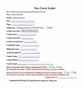 Cover Letter Sample Word 10 Fax Cover Letter Templates Samples Examples Format