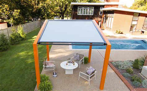 vinyl wall low maintenance shade structures pergola kits by trex