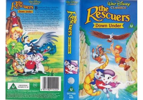 Rescuers Down Under, The (1990)on Walt Disney Home Video