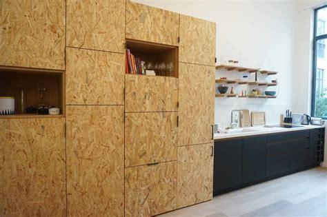 amenagement interieur meuble de cuisine cuisine en panneaux fenix et osb moderne cuisine par ms ebénisterie